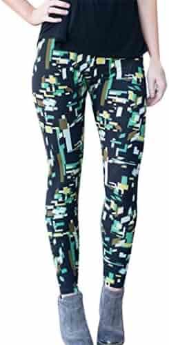 88bd5eaa2f9b39 Amiley leggings for women , Fashion Women Lady Skinny Geometric Print  Stretchy Jegging Pants Slim Leggings