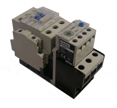 Kripal/yagi Motor Starter UKS1-040, 24-36 Amps, 480v 3Pole, 120V Coil, 25 - Starter 120v Coil