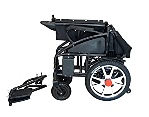 2018 NEW Comfy Go Electric Wheelchair - Foldable Lightweight Heavy Duty Lithium Battery Electric Power Wheelchair by Buvan Corp, Inc