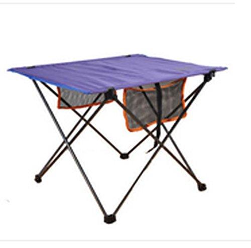 HNHX Mesa y sillas Plegables al Aire Libre Mesa Plegable de Pesca ...