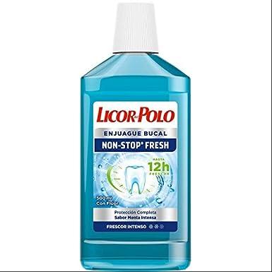 Enjuague Bucal Non Stop Fresh Licor Del Polo 500ml: Amazon.es ...