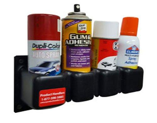 Product Handlers 2 1 4 Small Four Aerosol Spray Can Holder Spray Paint Organizer Garage Shop