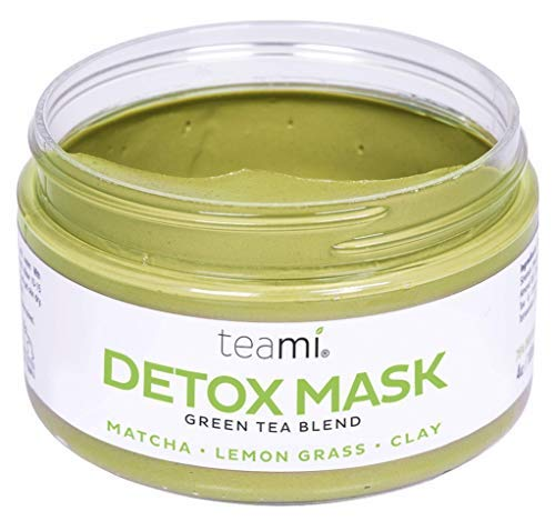 (Teami Detox Face Mask - Green Tea Facial Care Mud Mask with Bentonite Clay)