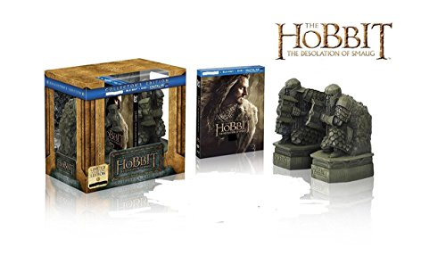 The Hobbit: The Desolation of Smaug Limited Edition #ed of 5000 with Bookends (Blu-ray + DVD + Digital HD)