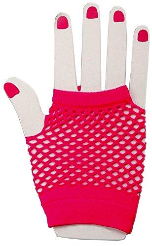 Sexy Fishnet Fingerless Costume Gloves