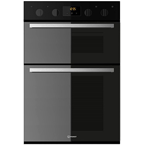 Indesit IDD6340BL Aria Electric Built-in Double Oven Black