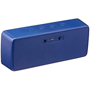AmazonBasics Portable Wireless Bluetooth Speaker - Blue