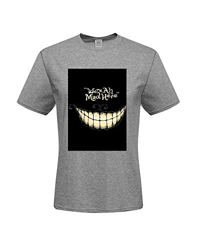 DIY T-Shirts,Men's 100% Cotton Short Sleeve T-Shirt (Medium)