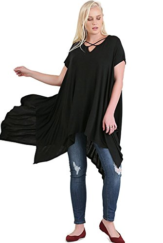 Umgee Handkerchief Short Sleeve Tunic product image