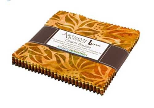 Lunn Studios Artisan Batiks Cornucopia 42 5-inch Squares Charm Pack Robert Kaufman CHS-675-42