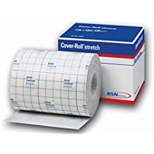 "BSN 45553 Medical Cover-Roll Stretch Adhesive Bandage, 4"" x 10 yd."