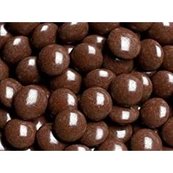 Brown Milk Chocolate Gems (Lentils) 5LB Bag