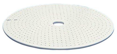 CoorsTek 3760H35 Porcelain Desiccator Plate, 190 mm Od