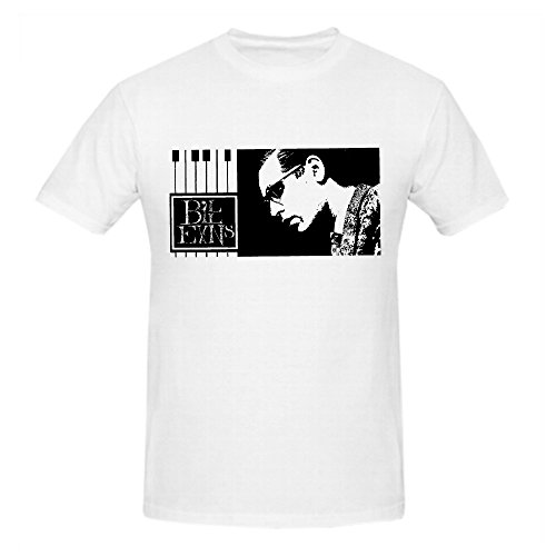 FGEXYZ Design Bill Evans December 1960 Men T Shirt Cotton O neck White