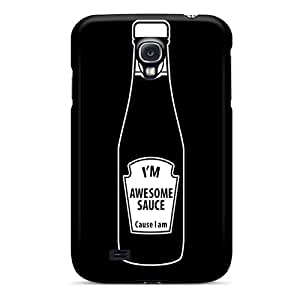 Tpu Case Cover Compatible For Galaxy S4/ Hot Case/ Im Awesome
