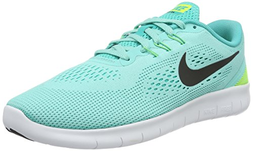 Nike Free RN GS Kids Running Shoes, Hyper Turquoise, Size 5 Y