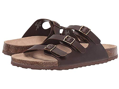 (Madden Girl Women's Perrcyy Dark Brown 9 M US)