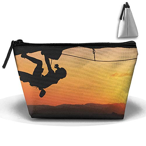 Travel Cosmetic Bags Rock Climbing Small Makeup Bag Multifunction Pouch Cosmetic Handbag Toiletries Organizer Bag for Women Girl