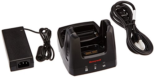 Honeywell 99EX-HB-1 Dolphin 99EX Home Base US Kit, Charging Cradle with USB, AUX Battery Well, US Power Cord/Power Supply