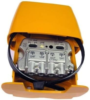 Televes 561610 - Amplificador mástil 12-24v 3e/1s u-vmix ...