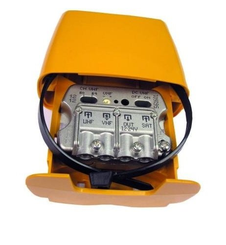 Televes 561610 - Amplificador mástil 12-24v 3e/1s 3e/1s 3e/1s u-vmix-flmix c8967b