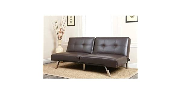 Amazon.com: Sofa Bed Couches Sleeper Sofas-Brown Bonded ...