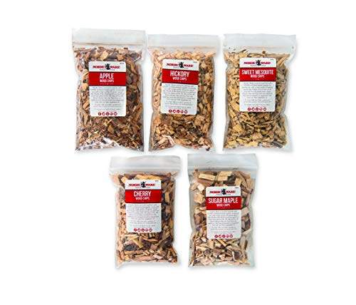 Nordic Ware Apples - Nordic Ware 00780 5 Flavor Wood Chip Variety Pack, One Size, Brown