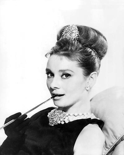 Moviestore Audrey Hepburn 25x20cm Schwarzweiß-Foto