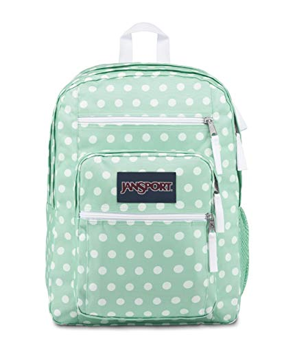 JanSport Big Student Backpack - 15-inch Laptop School Pack, Cascade Polka Dot