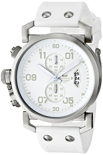 Vestal Men's OBCS003 USS Observer Chrono All White Chronograph Watch