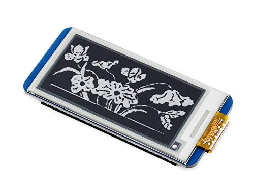 Waveshare 2.13 inch e-Paper Display Hat 250x122 Resolution E-Ink Screen LCD Module SPI Interface with Embedded Controller for Raspberry Pi 2B 3B Zero Zero W