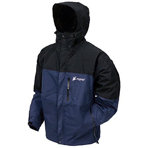 Frogg Toggs Toadz Rage Jacket Dust Blue/Blk XLg NT6601-122XL (Blue Industry Textile Jacket)