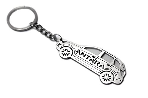 Keychain With Ring For Opel Antara Steel Key Pendant Chain Automobile Gift Car Design Accessories Laser Cut Home Key