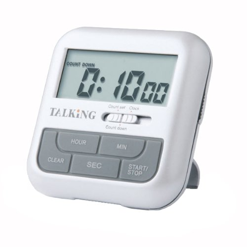 - Pocket Talking Timer and Clock - English