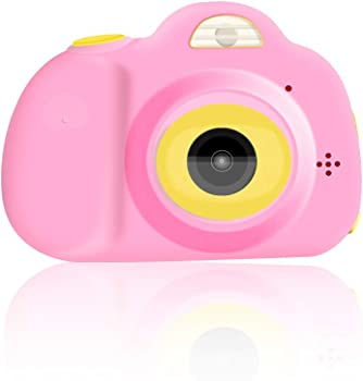 Kodee Kids Shockproof Camera with Camcorder (Pink)
