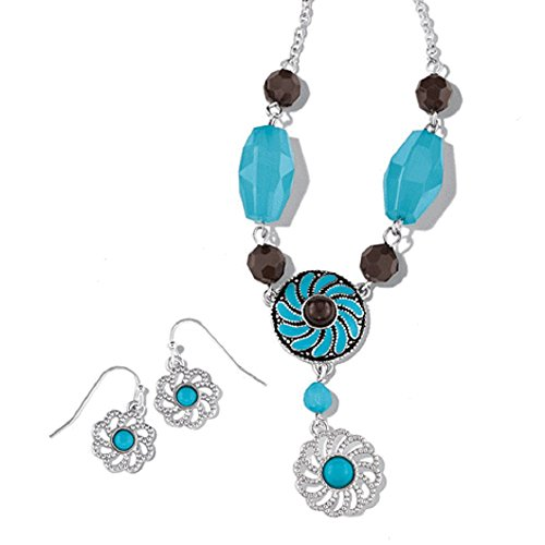- Avon Western Chic Necklace and Earring Gift Set