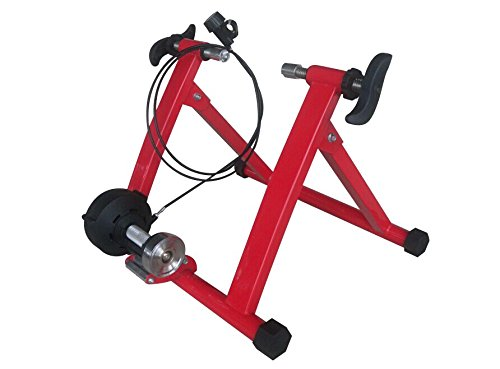 BestValueDeals Red Magnet Steel Bike Bicycle Indoor Exercise Trainer Stand