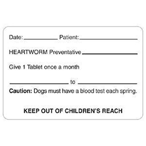Tabbies Medication Dispensing Labels, White - 320 Labels Per Roll ()