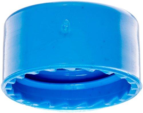 JG Finneran R.A.M. 5395F-09RB PTFE/Silicone Screw Thread Closure and Septa, 9mm Diameter, Royal Blue (Case of 1000) by JG Finneran