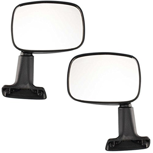 Koolzap For 84 85 86 Toyota Pickup Truck Manual Door Mount Mirror Left & Right SET PAIR