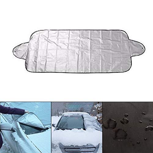 ROKOO Imperméable d'hiver de parasol de voiture de couverture complète de pare-brise de liberté de liberté imperméable 1ke6sn3uv4by8vt2