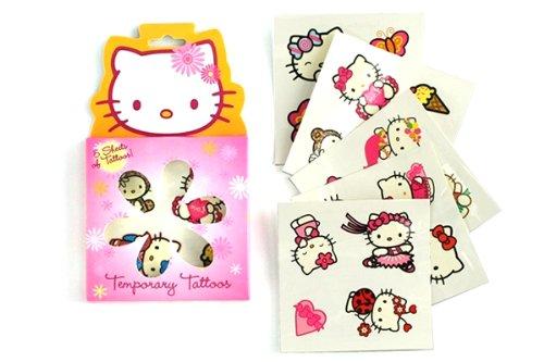 Hello Kitty Tattoos (Boston America Hello Kitty Temporary Tattoos)