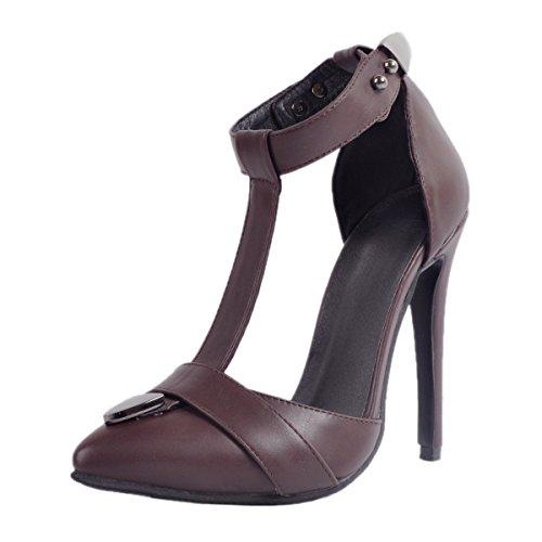 JIEEMEJieeme - Zapatos de tacón  mujer Marrón oscuro