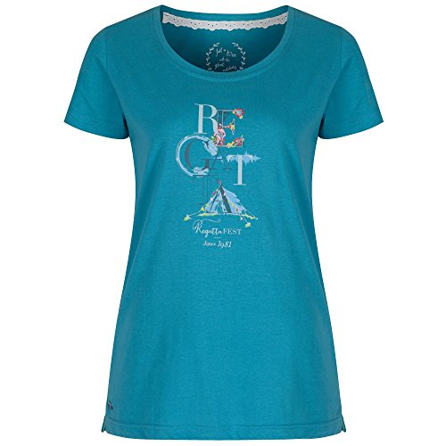 Regatta Great Outdoors - Camiseta de manga corta modelo Filandra para mujer Navy