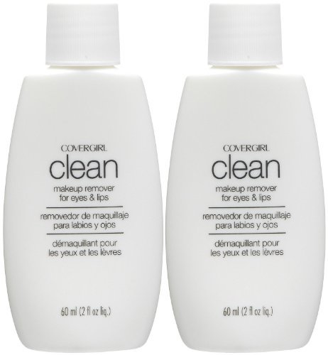 CoverGirl Makeup Masters Clean Makeup Remover for Eyes & Lips - 2 oz - 2 pk