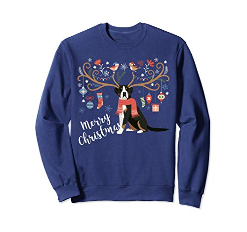 - Greater Swiss Mountain Dog Christmas Sweatshirt