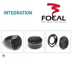 Focal TIS 1.5 Tweeter - Altavoz de alta frecuencia para coche
