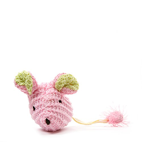 OurPetsPlay-N-Squeak Wee Pinkie Mouse Kitten - N-squeak Pets Play Kitten