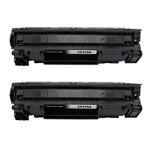Discount Big Dew 2 Pack CF279A Black Toner Cartridge Replacement For HP CF279A 79A Toner Cartridge For LaserJet Pro M12a, M12w, MFP M26a, M26nw Printer