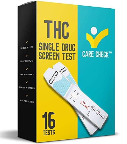 Care Check Marijuana THC Single Panel Drug Screen Test, Individually...